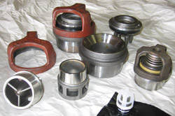Some of the many valve parts we carry